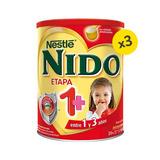 Nido 1+ - Leche Nido 1+ Protectus En Tarro. 1,6 Kg. Nestlé