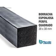 Borracha Perfil Esponjoso Vedação 38x38mm - Vendido No Metro