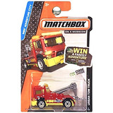 Matchbox Mbx Adventure City Urban Tow Truck Red And Yellow