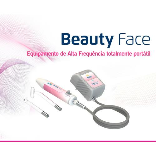 Alta Frequência Beauty Face Htm  Com Nf 18 Meses De Garantia