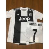Nueva Camiseta Juventus - 7 Ronaldo - 2018 2019 Lanzamiento