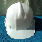 Capacete Novel Branco P/ Construção Civil C/ Aba Frontal
