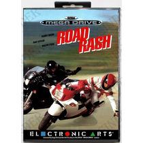 Road Rash - Versão Americana + Caixa - Leia Todo Anúncio