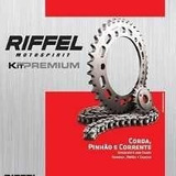 Kit Relação Honda Nxr 160 Bros Riffel Premium + Tensor Vcj