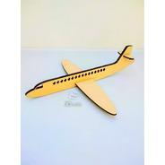 Avión - Souvenir X 20u  - Mdf / Fibrofacil