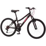 Mongoose Ledge 2.1 Bicicleta De Montaña Rodada 24 Para Niña