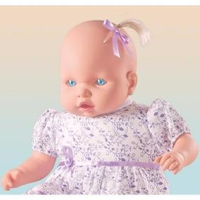 Boneca Grande Bebezão Judy Fala 62 Frases Com Mamadeira Milk
