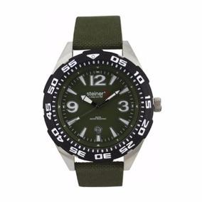 Reloj Suizo Análogo Steiner Correa De Nylon Mod St22430d