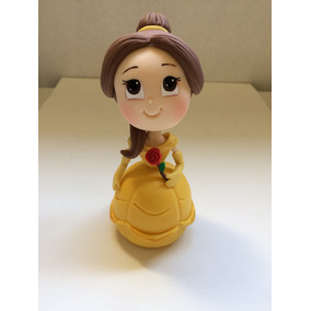 Princesa Bella De Disney Porcelana Fria Adorno De Torta