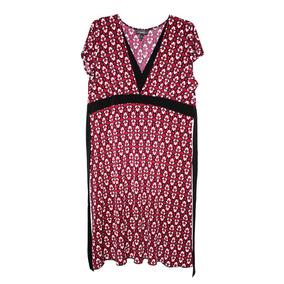 * Remate Vestido Corto Rosa Americano Talla Xl Extra Grande