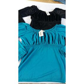 Blusa Top Zoomp Azul Ou Preta,nova,ótimo Preço.