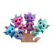 Fingerlings Bebe Dragon Con Glitter Interactivo Tapimovil