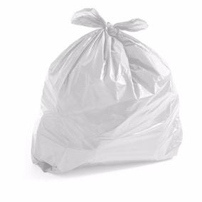 1 Saco De Lixo Branco Com 100 Unidades 20l 0.6 Micras