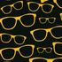 nº 022 Oculos Fundo Preto