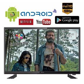 Smart Tv Android 42 Polegadas Wifi Conversor Hdmi - Promoção