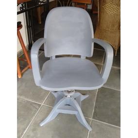 Antiga Cadeira Madeira Xerife Anos 50 - Poltrona Vintage