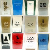 Kit 10 Perfumes 100ml Importados Contratípo Alta Fixação