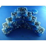 16 Mini Torre Cube Busters Luz Azul Orgone Generador De Ene