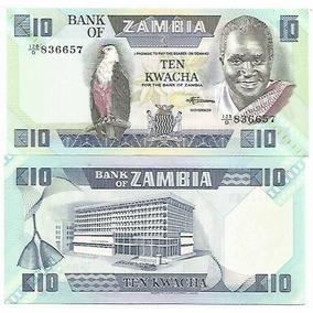 Zâmbia 10 Kwachas 1986/1988 Pick-26e Fe
