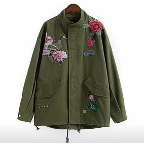 Parka Campera Bordada Zaras