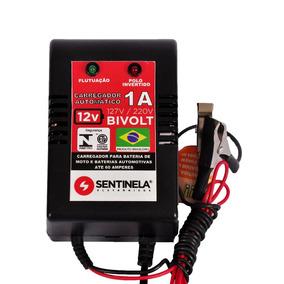 Carregador De Bateria Automático 1a - 12v - Bivolt