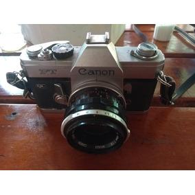 Canon Ft Ql Com Lente 35 Mm