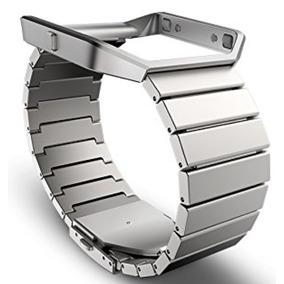Extensible Metal Fitbit Blaze Plata Grande