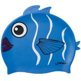 Gorra De Natación Silicona 100% P/ Niños - Reef Fish Finis