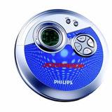Discman Walkman Reproductor Cd Philips Nuevo + Accesorios