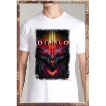 Remeras Videojuegos Consolas Diablo 3 World Of Warcraft