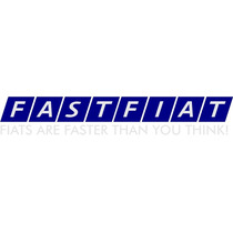 Adesivo Fastfiat - Abarth Turbo Tempra Tipo Punto 147 Uno