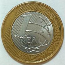 Moeda 1 Real - 2002 - Centenário Juscelino Kubitschek - Jk
