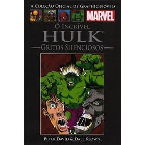 Hulk Gritos Silenciosos Marvel Salvat 11 Hq Capa Dura