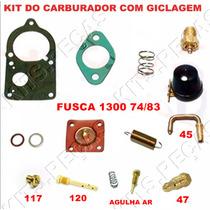 Kit Reparo Carburador Fusca 1300 74/83 Solex Simples
