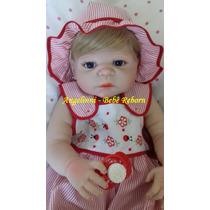Bebê Reborn Melissa Silicone Molde Victória Pronta Entrega!!