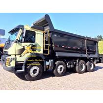 Volvo Fmx 500 Hp Com Caçamba Librelato Bi-truck 8x4 6x4