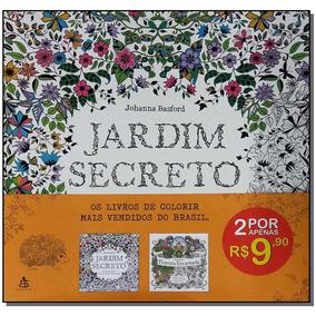 Kit - Jardim Secreto + Floresta Encantada