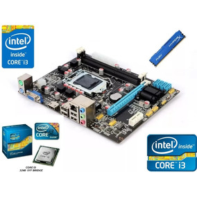 Kit Intel Core I3 3220 3,2ghz Placa Mae H61 Memoria 4gb Ddr3