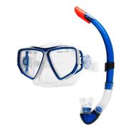 Snorkel Profesional Buceo Mascara Marfed Valvula Luneta