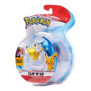 Figura Pokemon Clip N Go Original Pokebola Wct