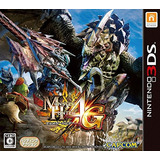 Monster Hunter 4g Importación Japón