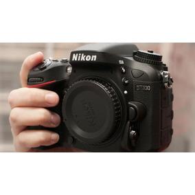 Câmera Nikon D7100 Lente 18-140mm + Lente 35mm 1.8