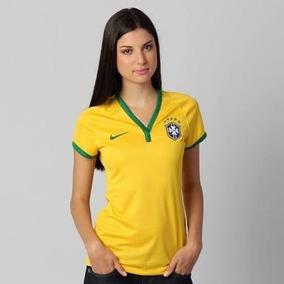 Kit 10 Camiseta Seleção Brasileira Feminina Copa - Atacado