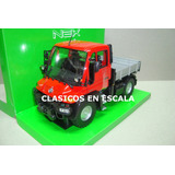 Mercedes Benz Unimog U400 Truck - Rojo - Welly 1/24