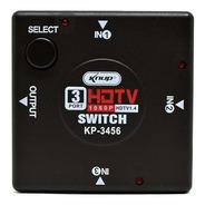Switch Adaptador Hdmi 3 Entradas E 1 Saída 1080p - Knup