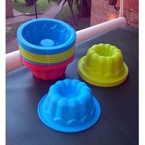 Flanera Individual De Silicona Gelatina Colores