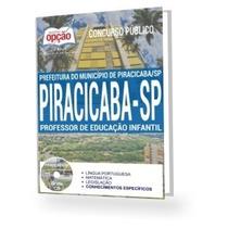 Apostila Piracicaba 2017- Professor De Educação Infantil
