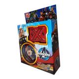 Juguete Trompo Tornado Beyblade De Metal Surtido Avengers