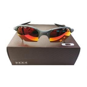 aaa21ca96ea4e Oculos Oakley Top Promoção 12x Cinza Fire Cx + Saquinho Top. R  120