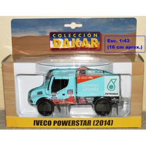 Camión Iveco Powerstar Rally Dakar Escala 1:43 El Tiempo